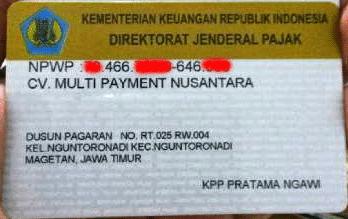 CV. MULTI PAYMENT NUSANTARA
